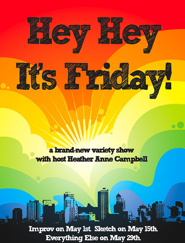 Hey Hey It's Friday   Poster for the first month of Hey ...