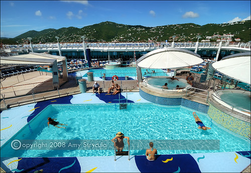 pool deck adventure of the seas flickr photo sharing