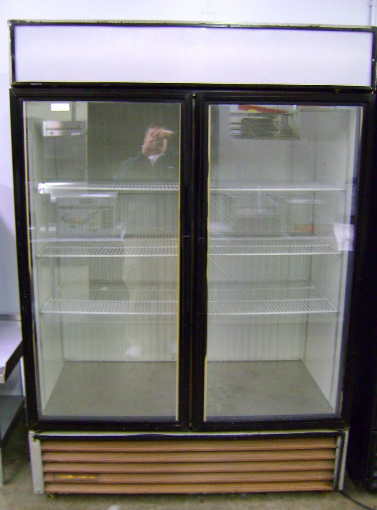 Used Restaurant Refrigerator True Model Gdm 49 2 Door Gl