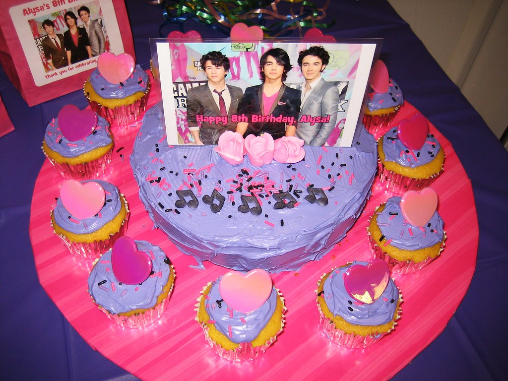 Jonas Brothers Birthday Cake Jonas Brothers Birthday