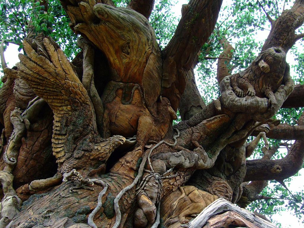 Disney World Animal Kingdom Tree of Life | Pilar | Flickr