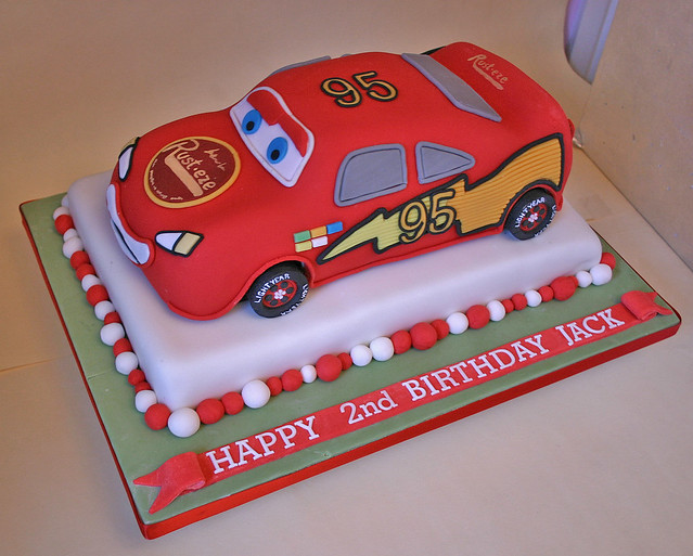 Cake Design Cars Theme : Birthday Cake (214) - Lightening McQueen Paula-Jane Bourke Flickr
