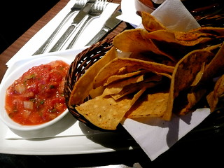 tortilla chips and salsa at Las Iguanas | by Scorpions and Centaurs