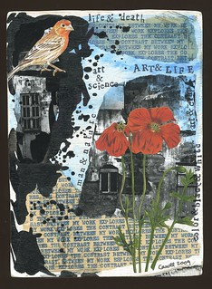 COLLAGE WALL BOARD 14 - ARTIST'S STATEMENT 6 | by dumpsterdiversanonymous