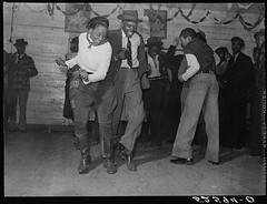 Jitterbugging in Negro juke joint, Saturday evening, outside Clarksdale, Mississippi (LOC) | by The Library of Congress