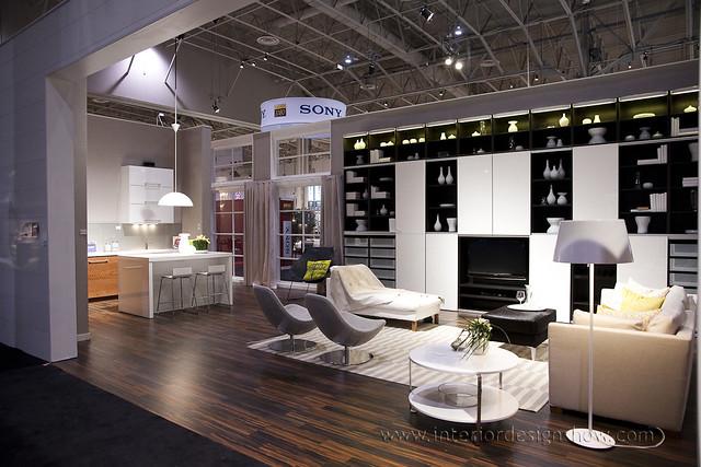 Ikea Living Space Interior Design Show Toronto Flickr