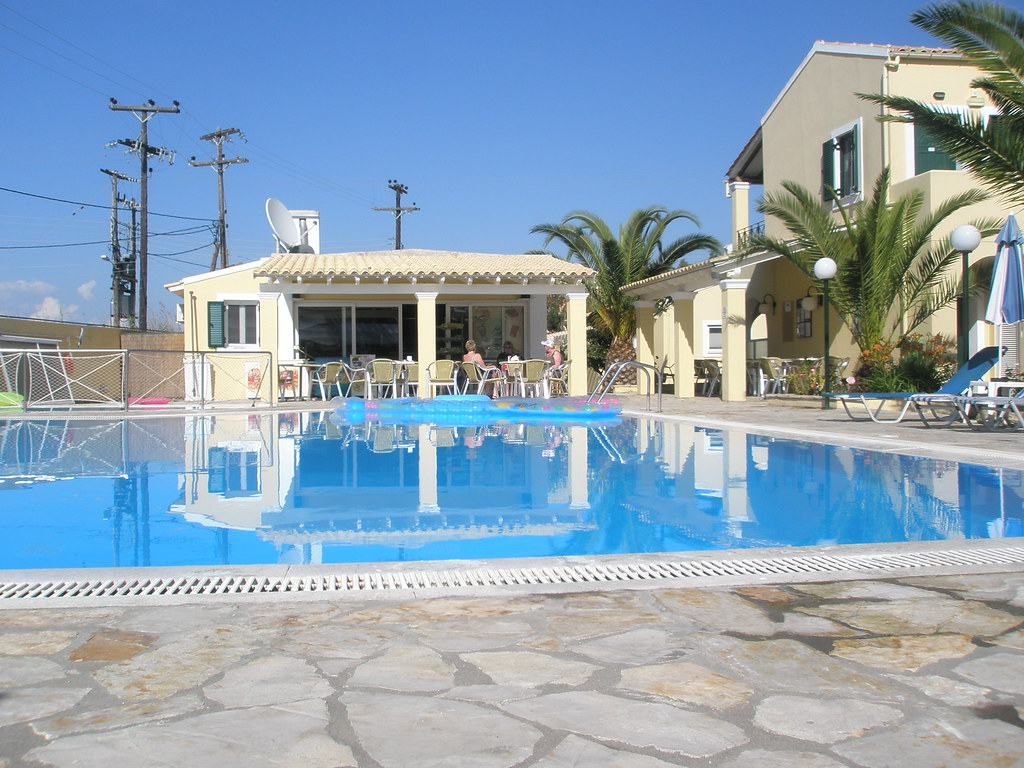 Loxides Apartments Sidari Corfu The Pool