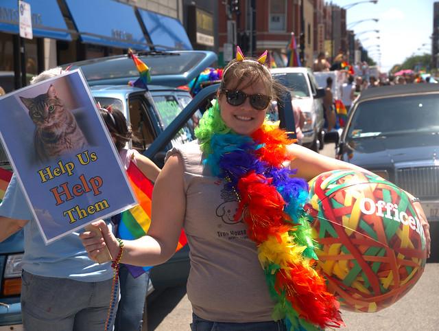 Gay parade chicago 2009