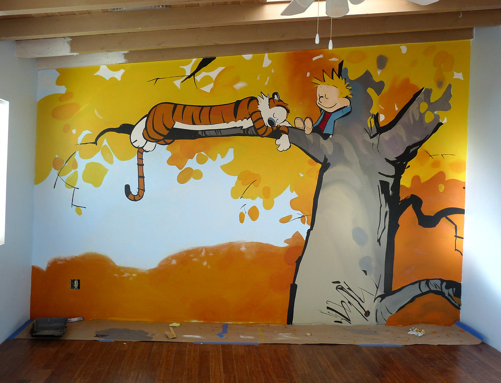 C And H Freehand Playroom Mural Donated To The Reynold