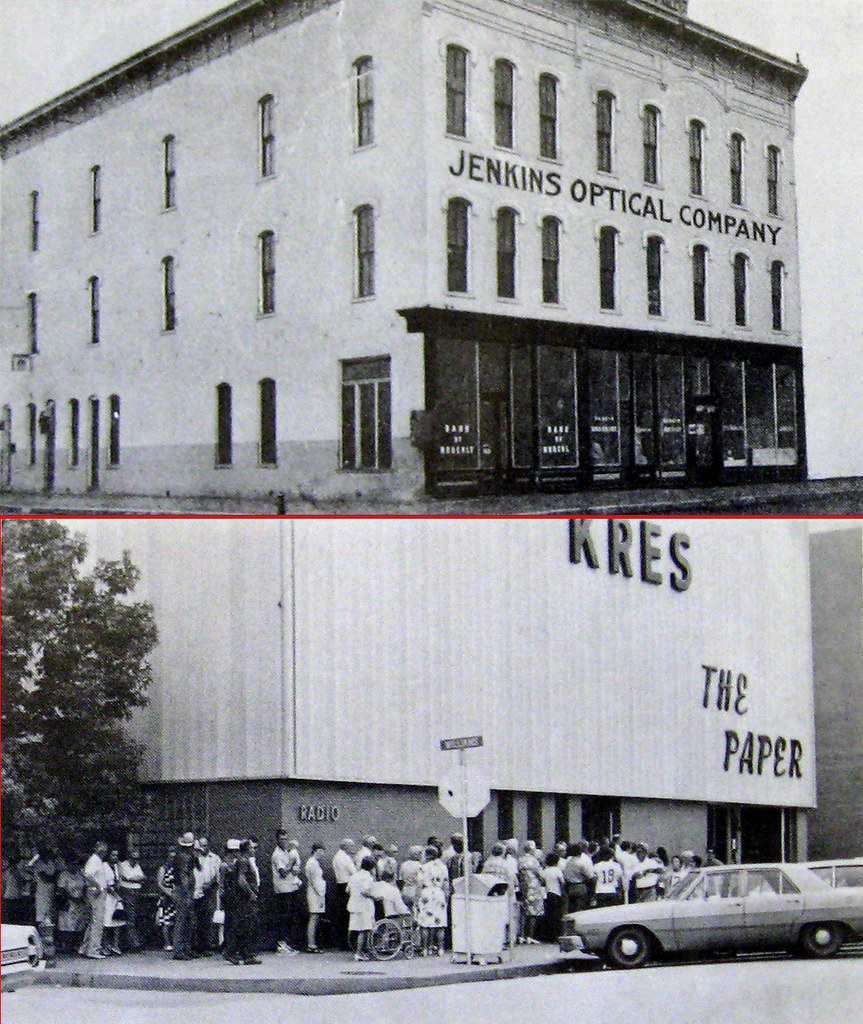 Kwix 1918 1975 Jenkins Optical Radio Building