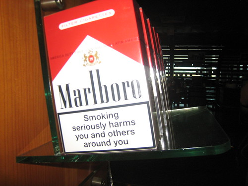 """tobacco warning labels """"health warning labels, especially labels with graphic elements, threaten the tobacco industry because they are a low-cost, effective measure to reducing smoking,"""" the researchers write."""