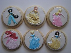 Princess Cookies | by Kim and Ashlee's Cakes & Cookies