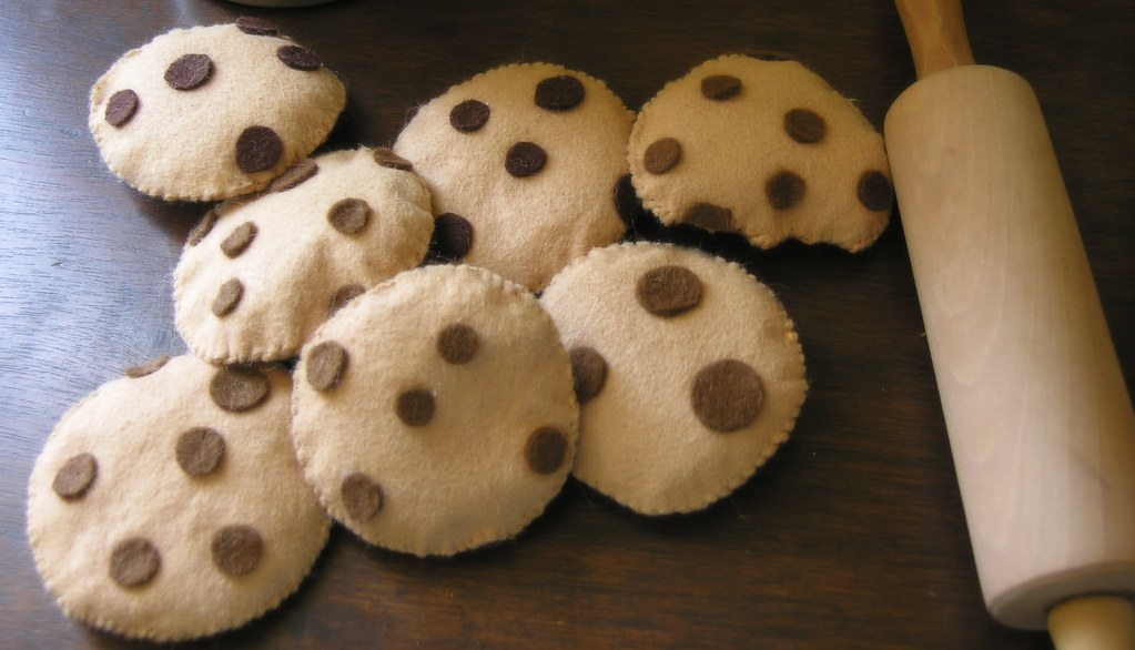 Free Chocolate Chip Cookie Felt Food Tutorial The Most