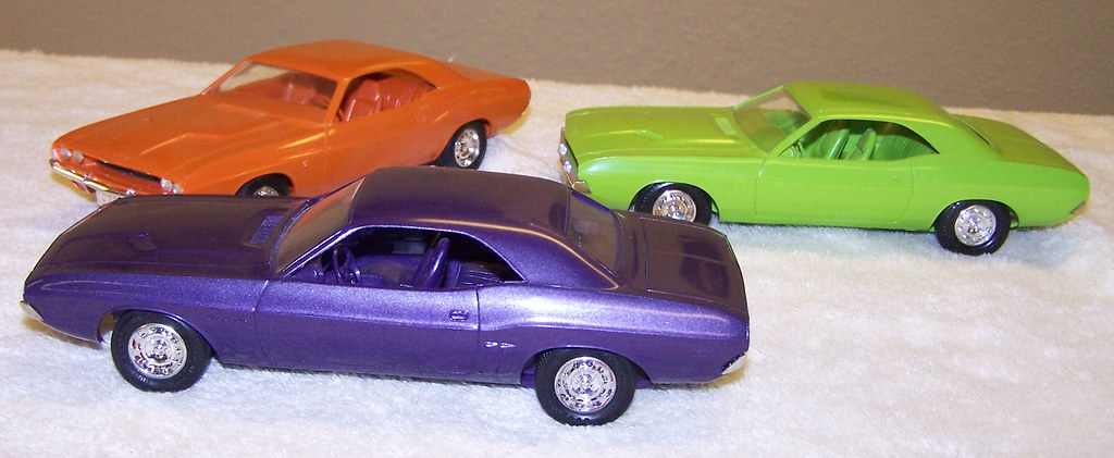 1970 And 1971 Dodge Challenger Rt Promo Model Cars Flickr