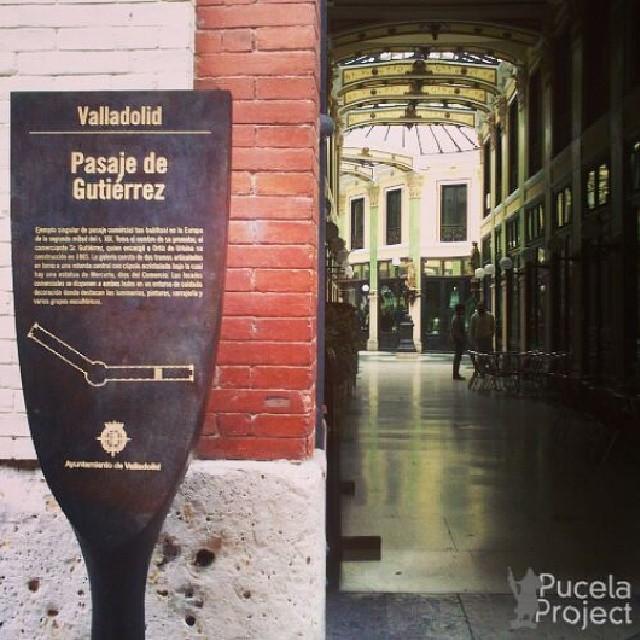 Pst pst, entra con nosotros en uno de los rincones más increíbles de Valladolid: el Pasaje de Gutiérrez #igersvalladolid #turismo #Valladolid