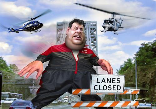 Chris Christie - Whoppers on the Bridge