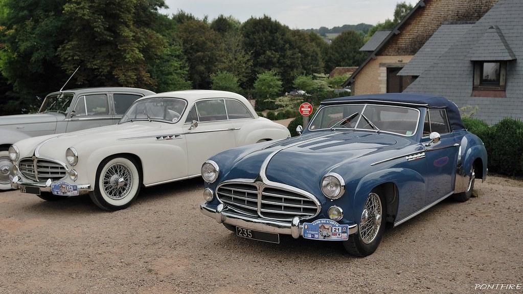 1952  u0026 1955 delahaye 235 chapron coach  u0026 cabriolet