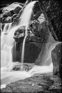 Olinda Falls black and white | by r reeve