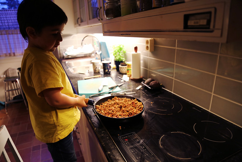 Stockholm family visit