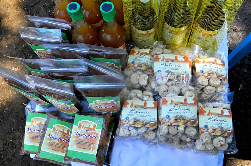Sugarcane products in Sta. Maria, Ilocos Sur