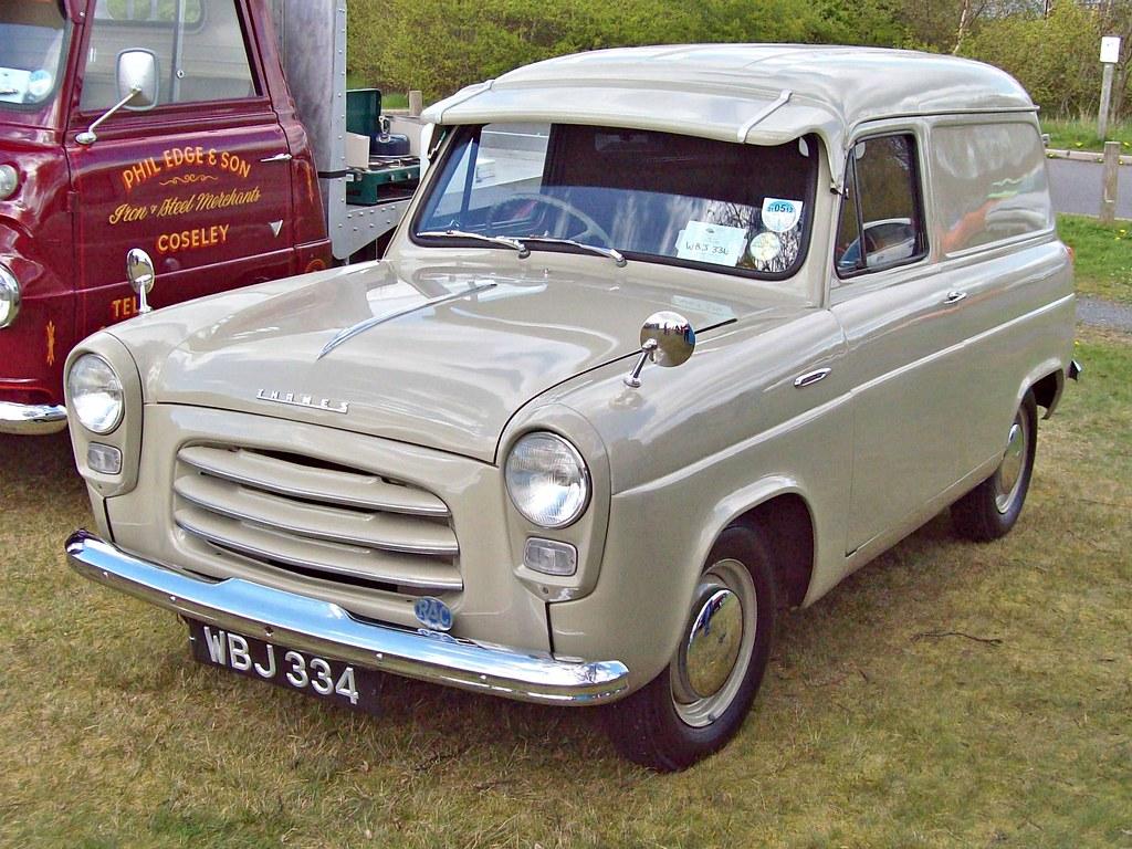 48 Ford Thames 300e 5cwt Van 1956 Ford Thames 300e Van