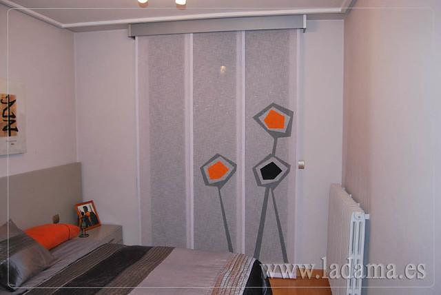 Cortinas dormitorio moderno panel japones - Cortinas dormitorio moderno ...