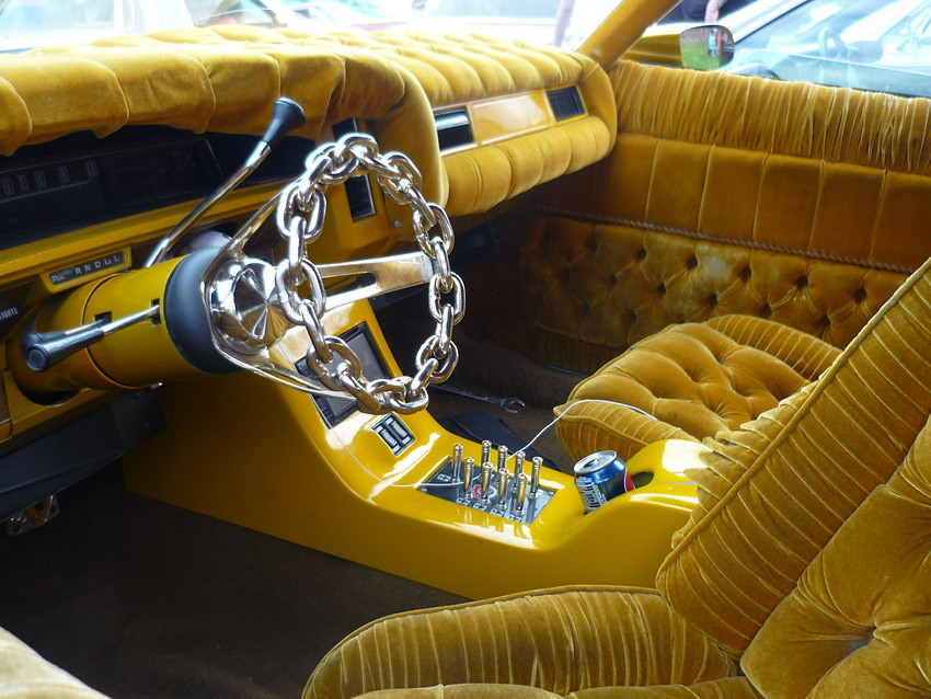 lowrider interior customizing a car s interior can be as. Black Bedroom Furniture Sets. Home Design Ideas