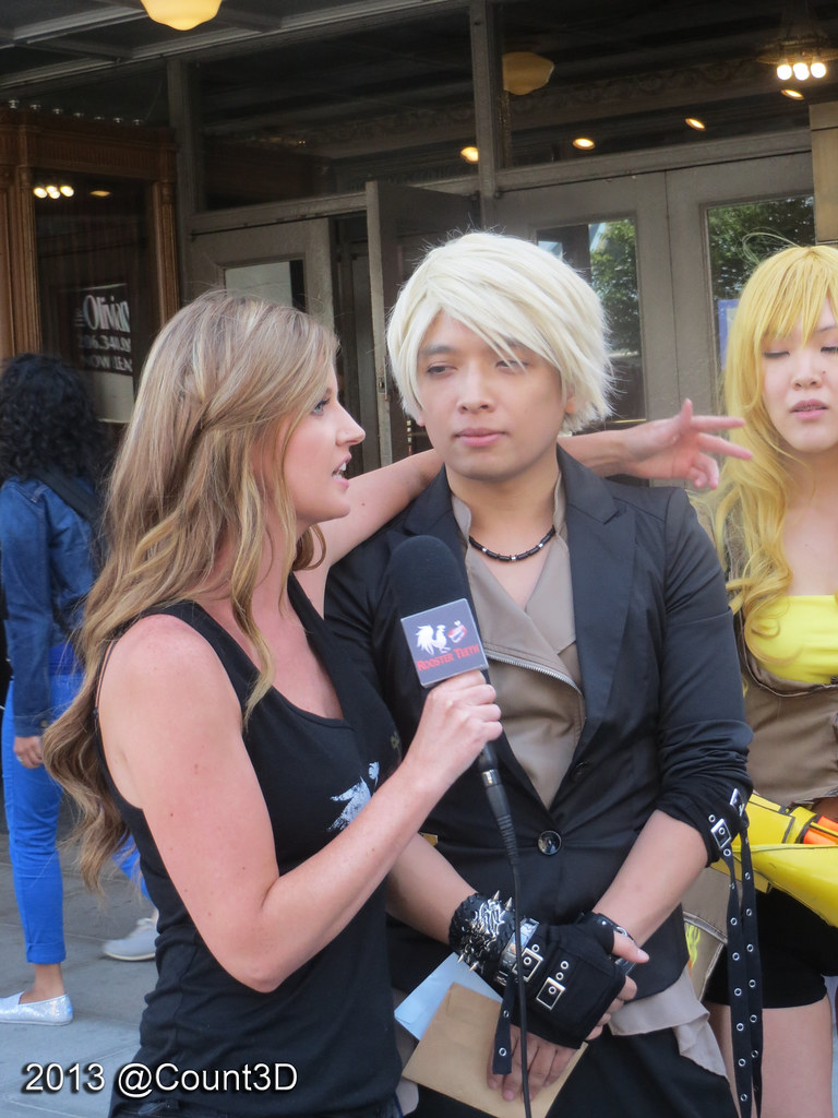 Ashley Jenkins and Monty Oum | PAX Prime 2013 | Count3D | Flickr