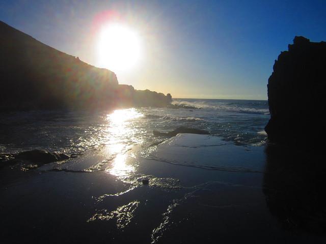 El Golfo beach, Lanzarote
