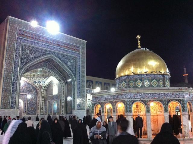 Santuario de Imán Reza en Mashhad (Irán)