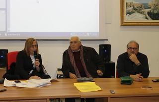 Da sinistra, Maria Centrone, Colagrande, Di Leva