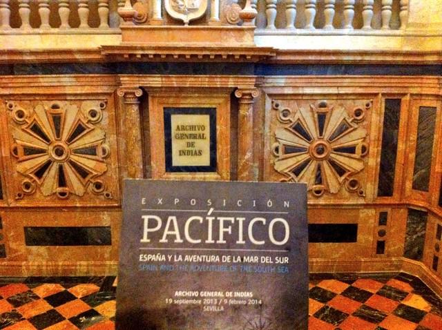 Interior del Archivo General de Indias (Sevilla)