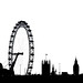 London Silhouette By Simon & His Camera