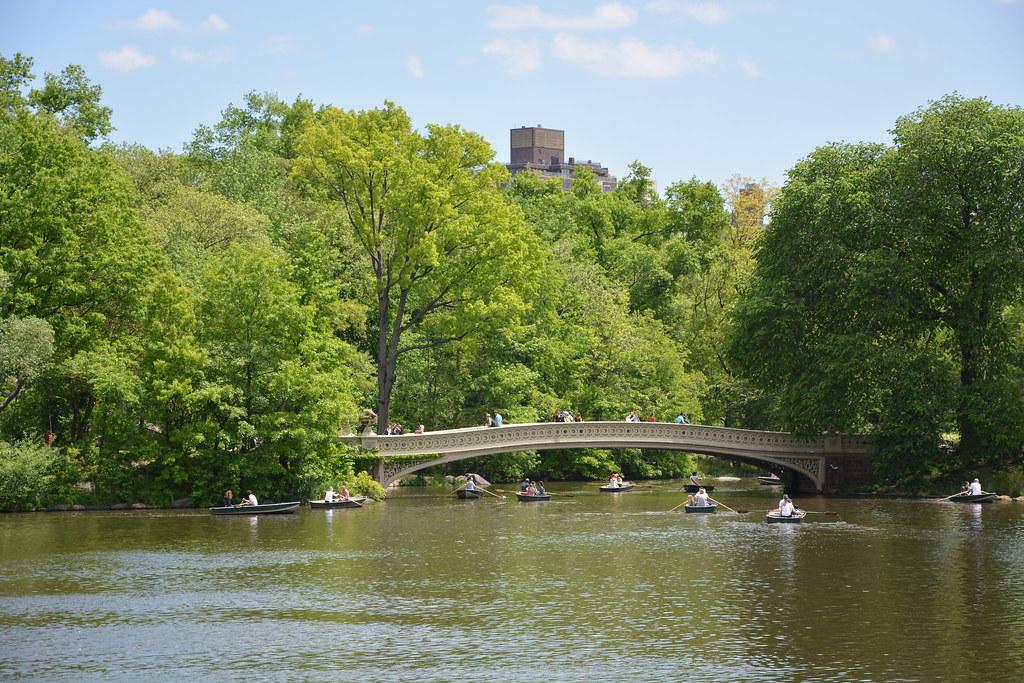 Highland Park Bridge Bow Bridge at Central Park