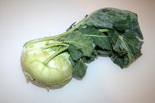 15 - Zutat Kohlrabi / Ingredient kohlrabi