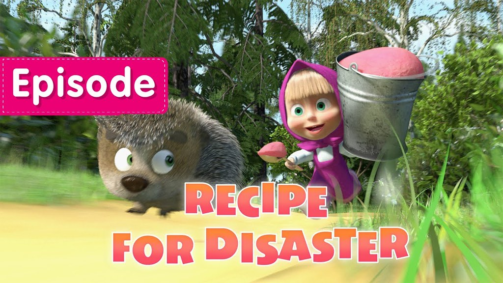 Masha and the Bear: Recipe for Disaster