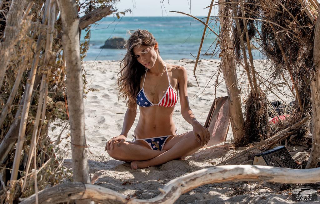 Nikon D800E Photos Pretty Brunette Swimsuit Bikini Model ...