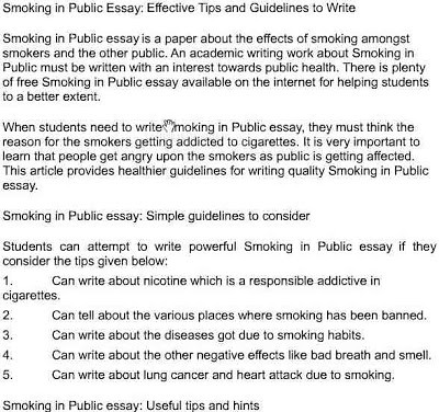 Write my process essay of how to quit smoking