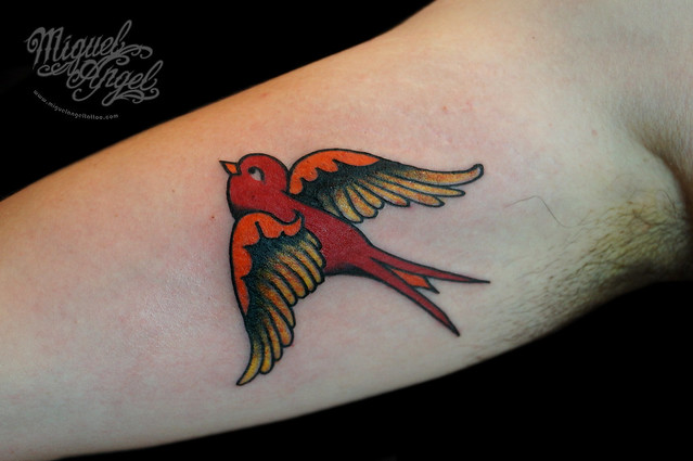 Sailor Jerry  169  swallow tattooSailor Jerry Swallow Tattoo