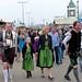 Munich: a family at Oktoberfest