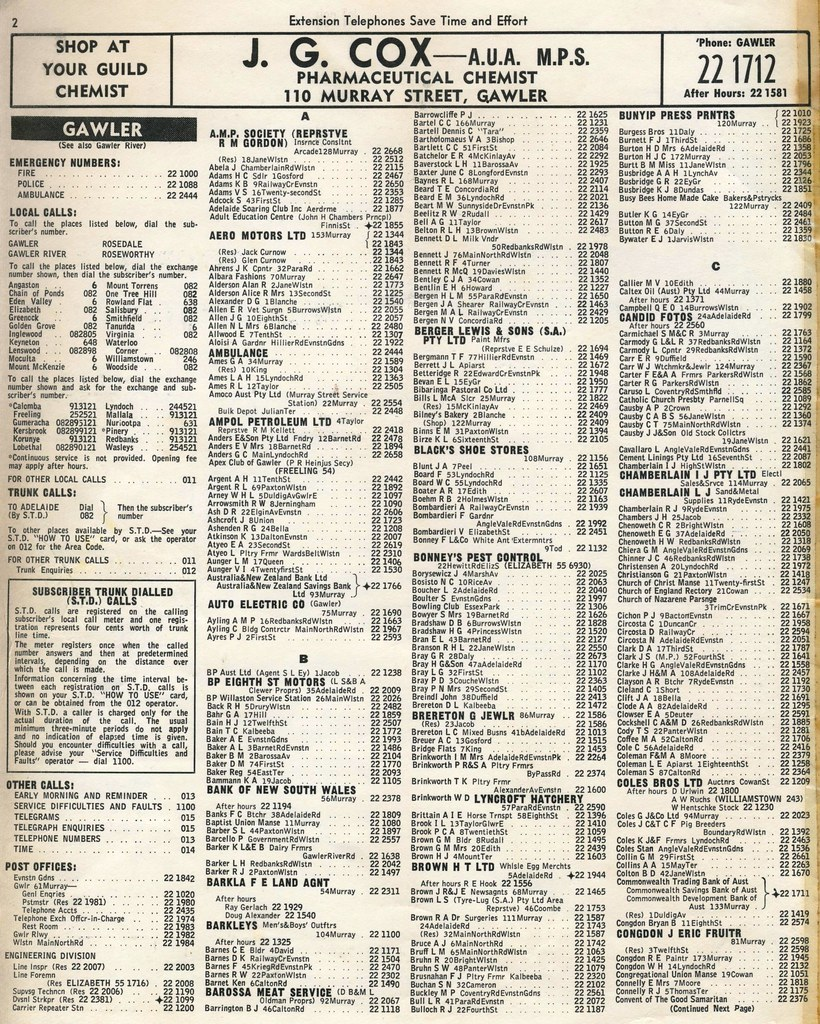 Telephone Directory For Qualicum Beach Vancouver Island Bc