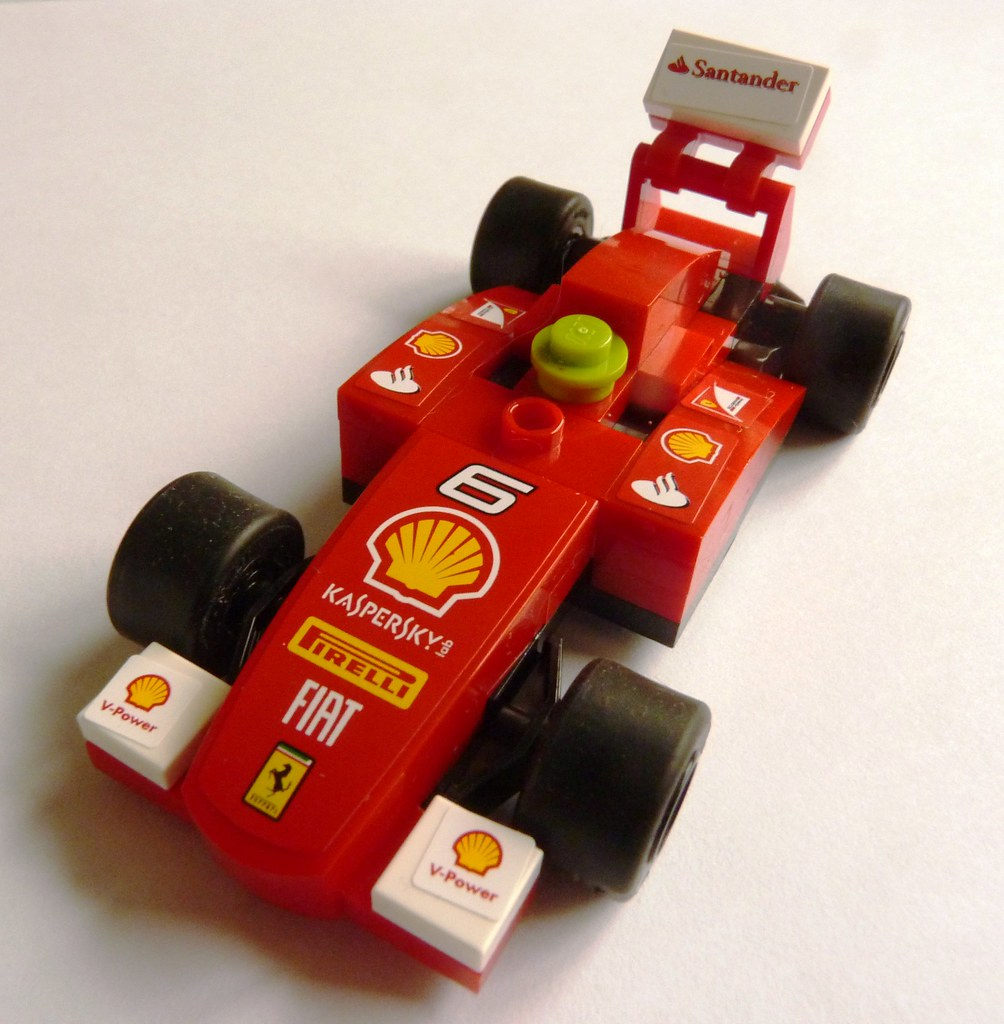 Shell Garages: Shell Ferrari Lego F1 Car Willingham Nov 2013