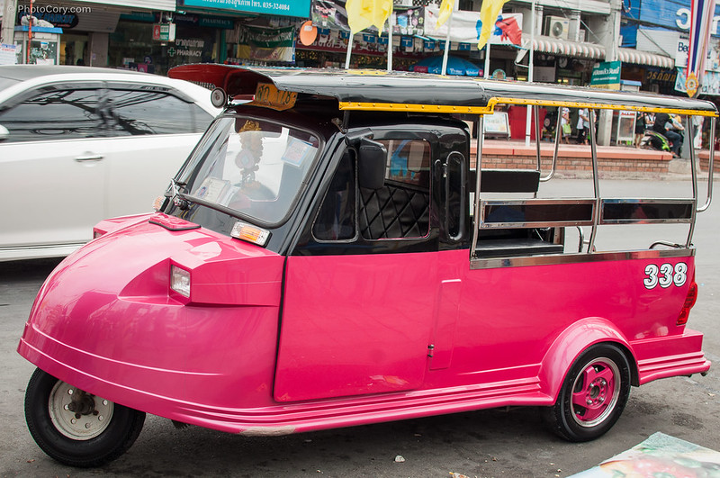 Tuk-tuk in Ayutthaya