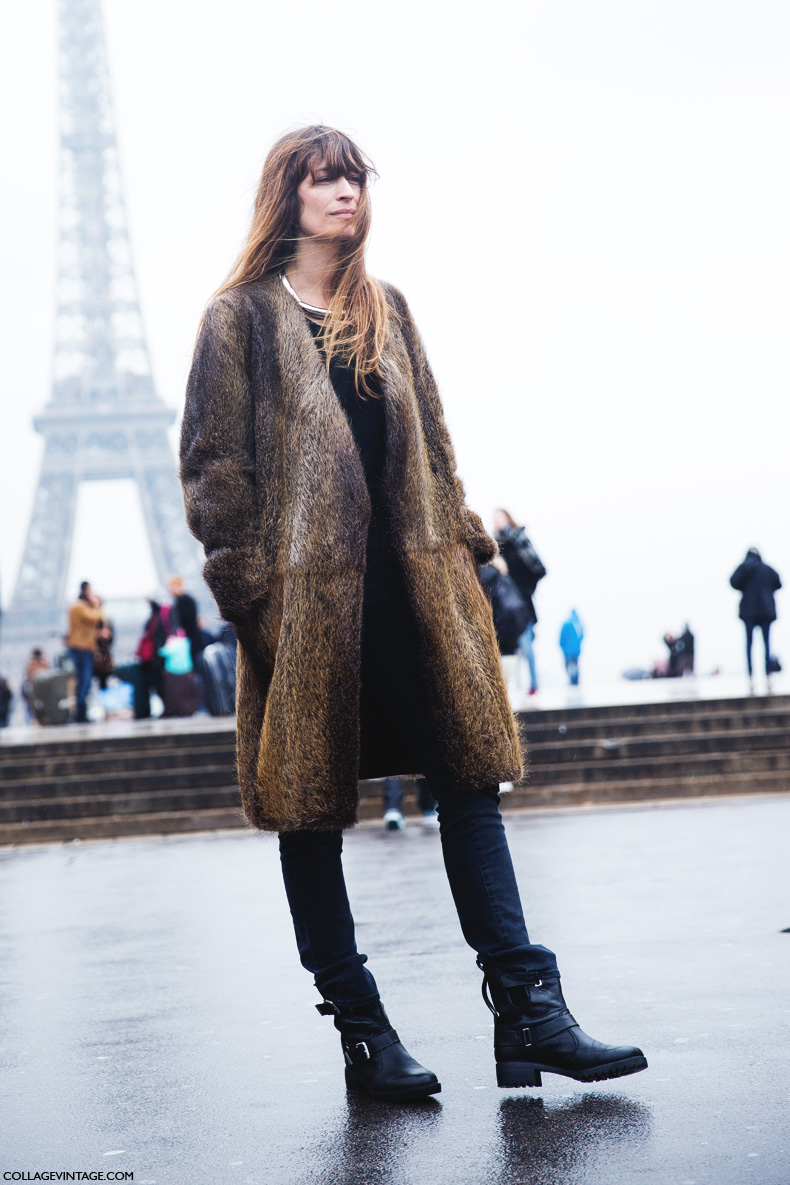 Paris_Fashion_Week_Fall_14-Street_Style-PFW-Caroline_De_Maigret-Fur_Coat-2