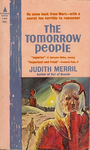 The Tomorrow People - Judith Merril - cover artist  John Schoenherr
