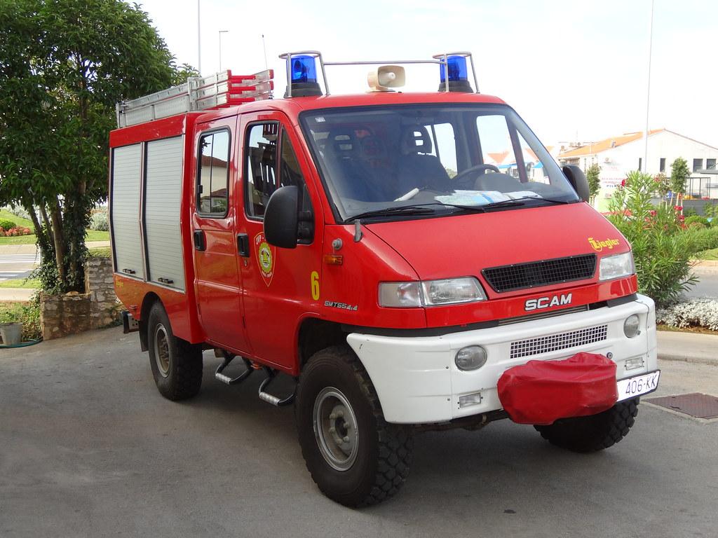 4 X 4 >> Iveco Scam 4x4 Novigrad Fire Dept., Croatia - Vatrogasci N ...