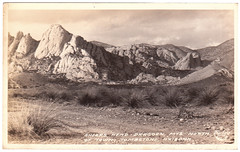 UNKNWNBX_POSTCARD_0003 : Sheeps Head - Dragoon Mts. North of Town, Tombstone, Arizona