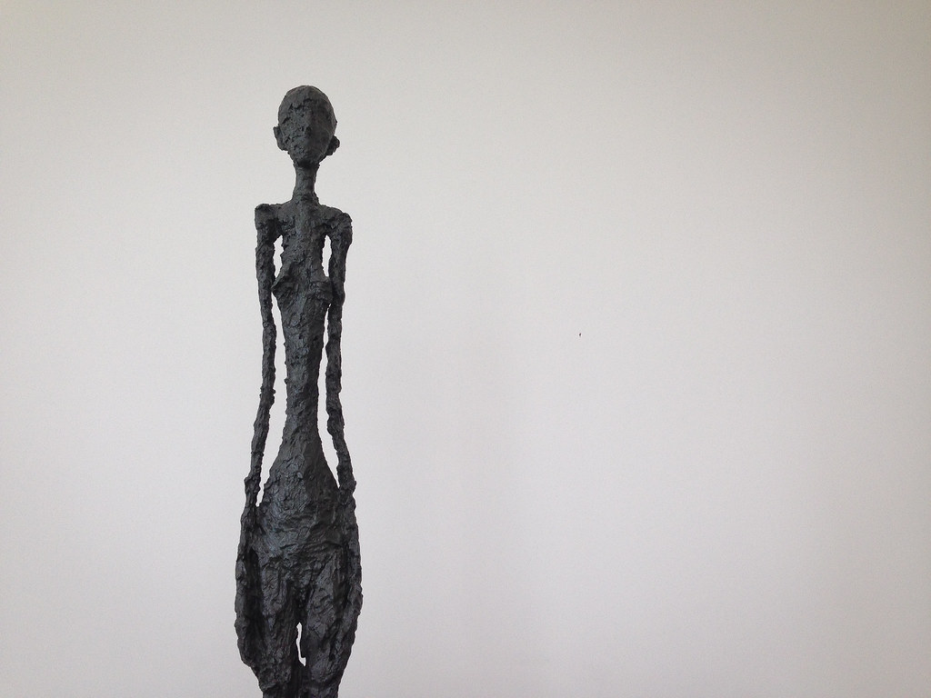 Giacometti Sculpture At The Getty Center Los Angeles Ca