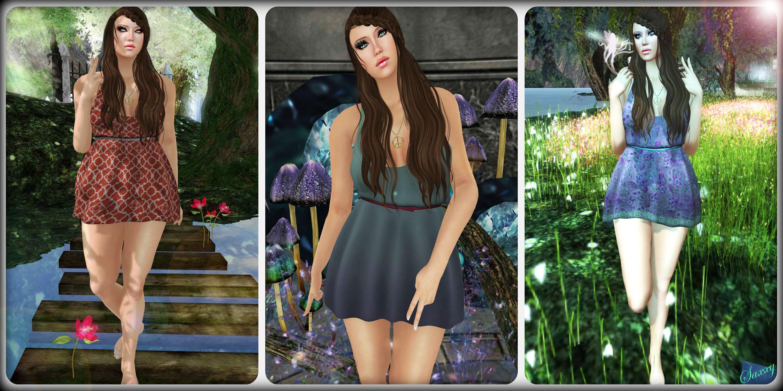 Diana Dress Collage