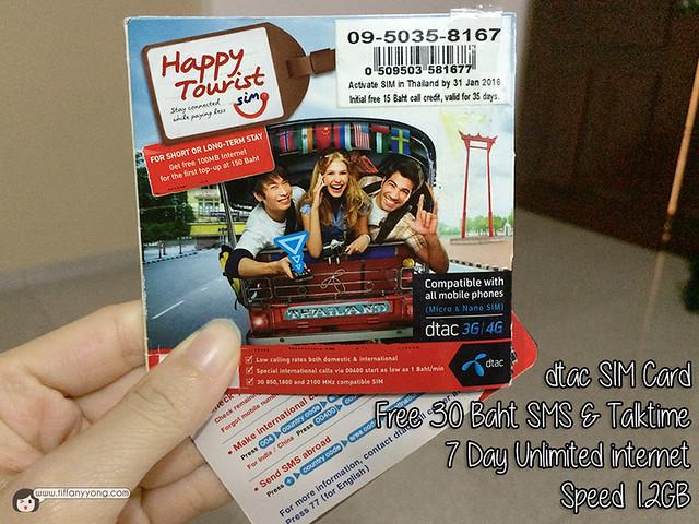 dtac SIM card